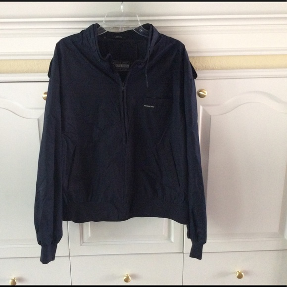 Members Only Jackets Coats Bomber Blue Jacket Size Xxl Poshmark